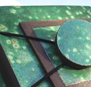 160504 CAROLINE PEETERS - grote groene doos uit stukjes